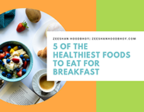 5 of the Healthiest Foods to Eat for Breakfast