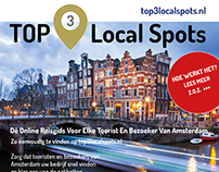 Flyer - Top 3 Local Spots - Amsterdam