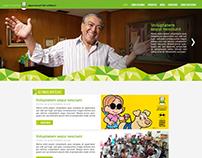 Interface Site Instituto Mauricio de Sousa