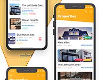 Rental management mobile app