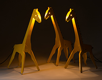 Giraffe Night Lights