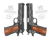 SA Laser Engraving Firearm Vector Illustrations & more