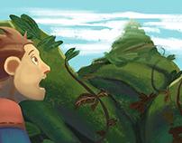 Ilustração- Jack and the Beanstalk