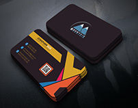 Creative Business Card Template Design.