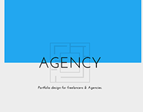 Agency , portfolio template for agencies & freelancers.
