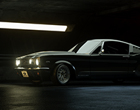 Ford Mustang Fastback 1965 CGI