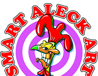 Logo for my company, Smart Aleck Art.