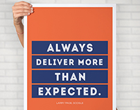 Startup Quotes Poster Designs