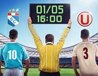 APP Fútbol Movistar - Sorteo entradas Cristal-Universit