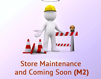 Store Maintenance-Coming Soon Magento 2