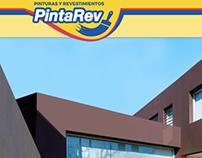 PintaRev - Diseño web institucional