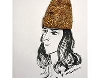 早安篇。天真的冷了,对自己好一点,戴一顶暖暖的帽子,带给全身的热量,坚果杂粮款怎么样?搁笔,早安!