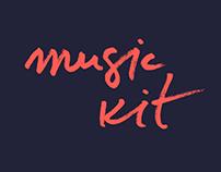free music UI kit
