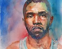 Frank Ocean Portrait