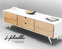 Sideboard , dresser, credenza in solid oak