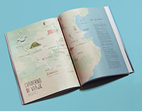 Map illustration for Volata magazine