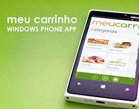 Meu Carrinho Windows Phone App