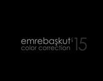 ColorCorrection'15   demo #1