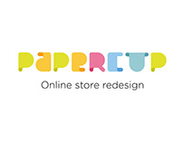 Design concept for e-commerce website