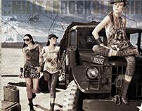 MILITAR ROCK - CAMPAING RIACHUELO