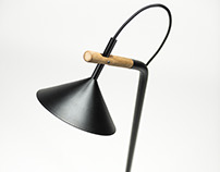 Nun, floor lamp