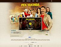 Pek Yakında Movie Web Site