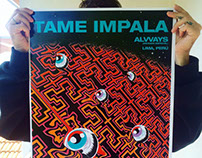 TAME IMPALA / Screenprint Poster