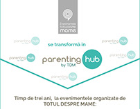 Infographic for Launching Parenting Hub in Romania