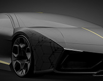 Lamborghini Pura BlackBull Edition