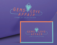 Logo & Corporate Identity GEMS LOVE AFFAIR