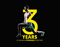 Gold's Gym Social media campaigns pitching