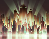 Metropolis: 2017 Visual Development Portfolio