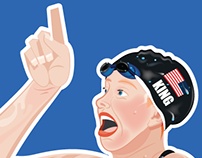 Lilly King - No. Sticker