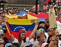 Concentración por la paz. Caracas, 17 de junio