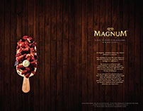 Magnum Cafe Menu Design