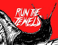 "Gig Poster ""Run The jewels"""