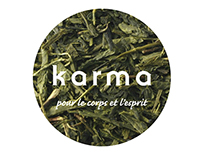 Karme green tea | Branding
