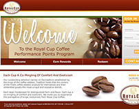 Royal Cup Coffee Performance Points Program