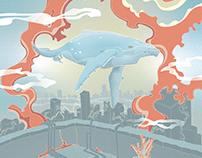 Whale City Illustration World