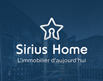 Logo creation for Real Estate - Sirius Home