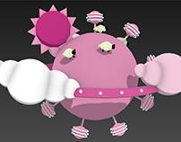 [3dsMax] Pink planet