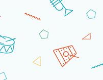 Conservatoires de Paris responsive website