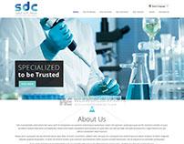Scientific Diamond - Custom Web Design