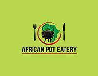African Pot Eatery Logo Design