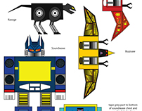 Paper Transformers: Soundwave