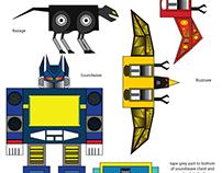 Paper Transformers: Soundwave