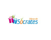 Diseño logotipo y sitio web www.ideasdesocrates.com