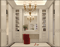 Wardrobe and Bathroom design
