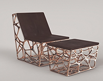"""GAUDI"" - LOUNGE CHAIR"