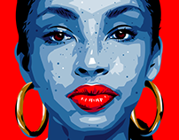 quarantine illustration series: Sade Adu